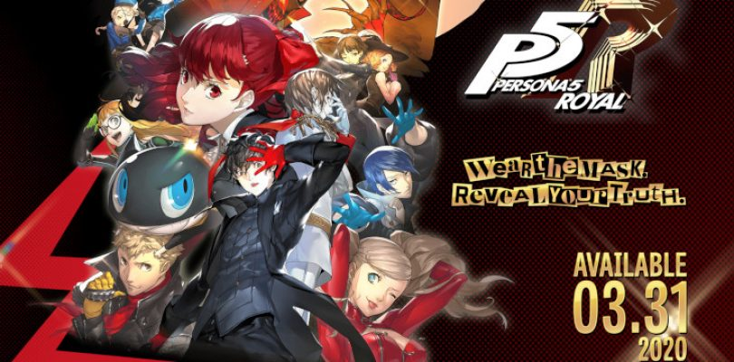 Persona 5 Royal Western release date officially announced