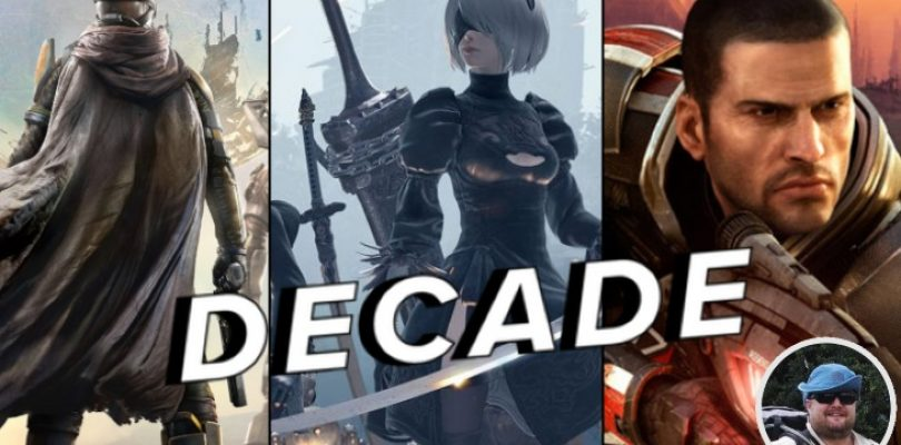 Charlie's top 10 games of the decade