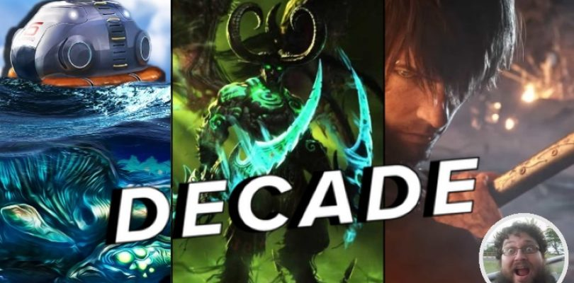 Garth's top 10 games of the decade