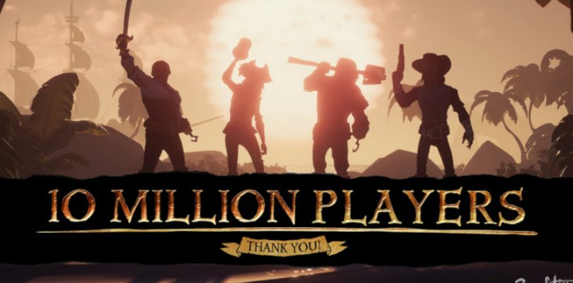 10 million buccaneers have set sail in Sea of Thieves