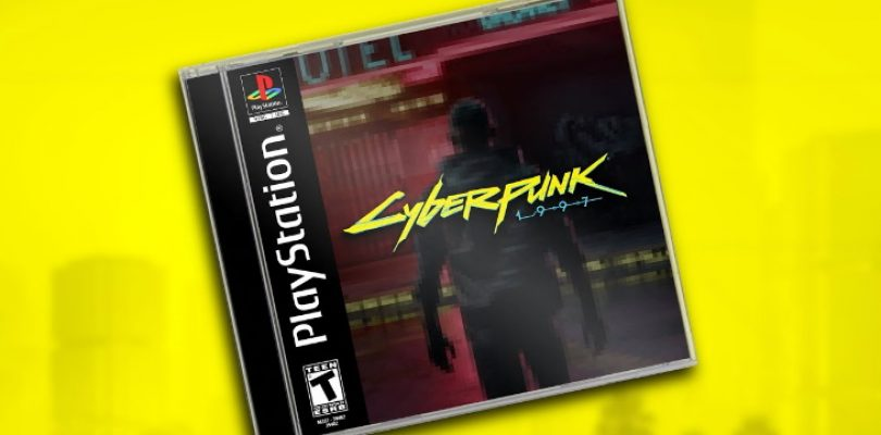 Cyberpunk 2077 gets a PlayStation 1 demake in Dreams
