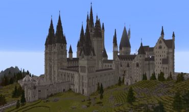 Be a blocky wizard in a Harry Potter RPG mod for Minecraft
