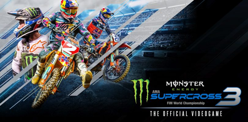 Review: Monster Energy Supercross – The Official Videogame 3 (PS4 Pro)