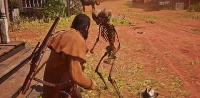 Red Dead Online hackers are spawning aggressive two-headed skeletons