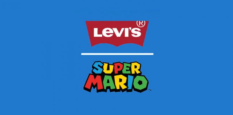 Mario's blue plumber jeans are now Levi's it seems