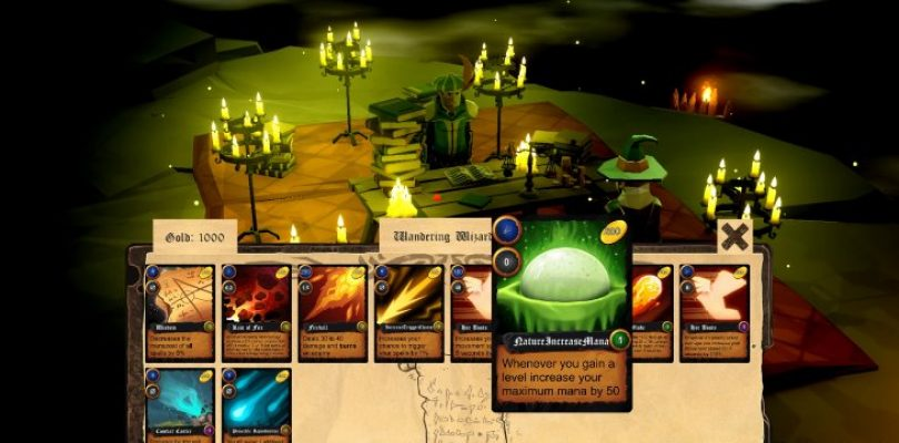 School of Magic combines deckbuilding and real-time dungeon crawling