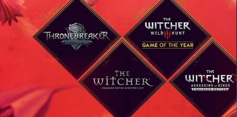Get a whole bunch of Witcher goodies for the low price of free