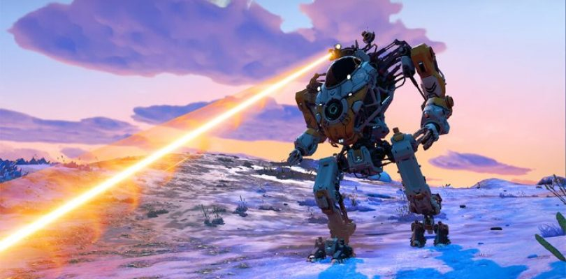 Stomp for joy as No Man's Sky adds mechs