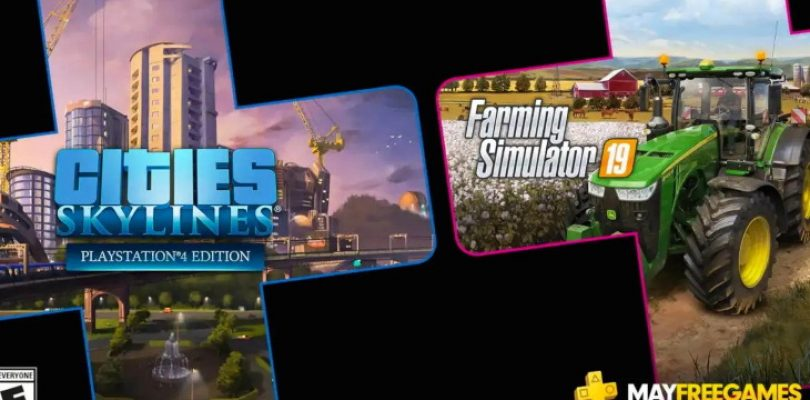 Build and farm with PS Plus in May