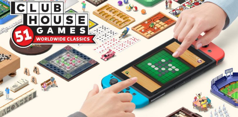 Clubhouse Games: 51 Worldwide Classics' full list looks like a lockdown lifestyle treasure trove