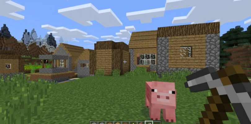 Minecraft is a lockdown haven, go build something