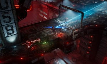 The Ascent is a twin-stick romp through a cyberpunk city