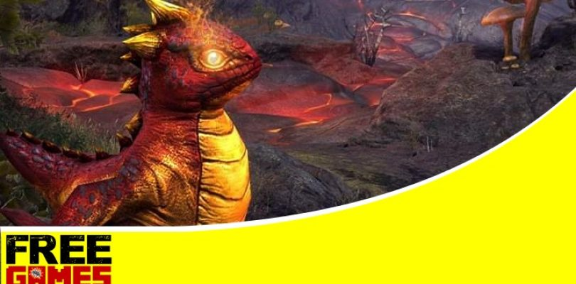 Free Games Vrydag: Win one of two Hot-Blooded Bantam Guar pets for TESO