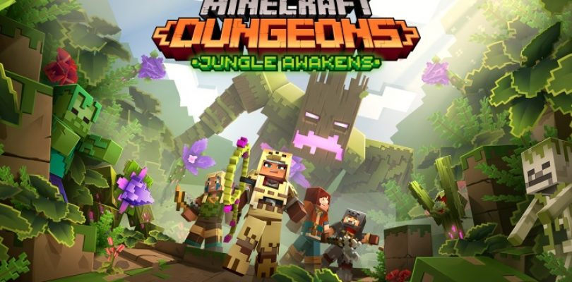 Get ready to go to the jungle in Minecraft Dungeons in July