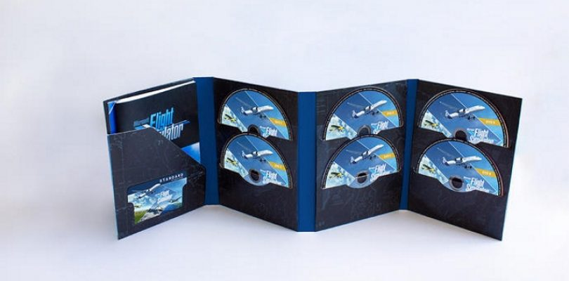 Microsoft Flight Simulator's physical edition is a whopping 10 discs