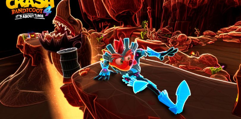 Crash 4 will feature multiple playable characters, earnable skins and N. Verted levels
