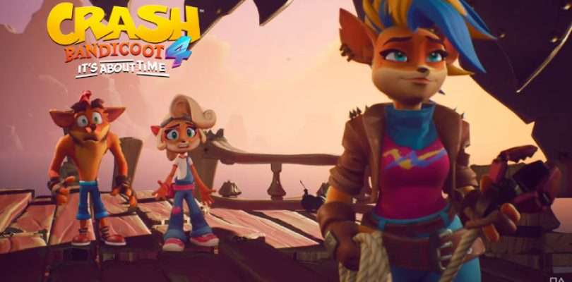Tawna 'returns' as final playable character in Crash 4