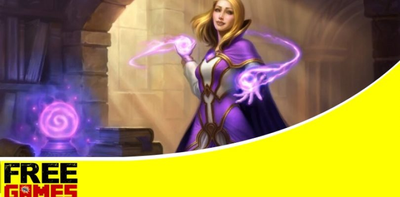 Free Games Vrydag: Hearthstone Scholar Jaina bundle and Magic of Dalaran card back