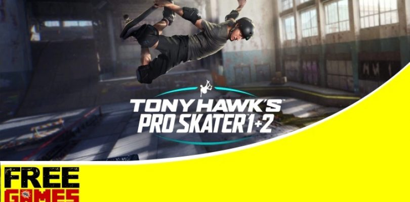 Free Games Vrydag: Tony Hawk's Pro Skater 1 + 2 (PS4)