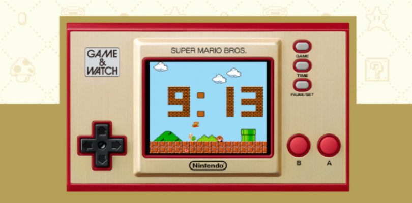 Special Game & Watch: Super Mario Bros. system up for preorder
