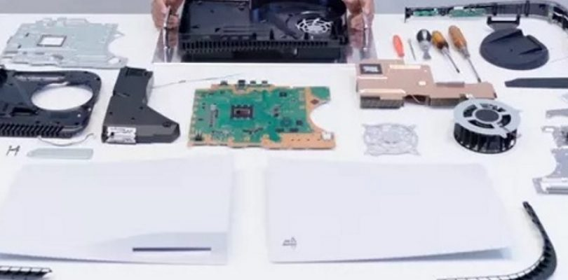 Check the massive PlayStation 5 in this teardown video