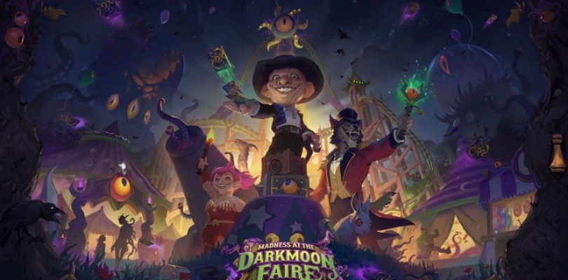 Hearthstone is taking us to the Darkmoon Faire, where the Old Gods lurk