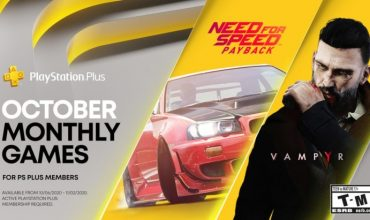Need for Speed: Payback and Vampyr will keep you company on PS Plus this month