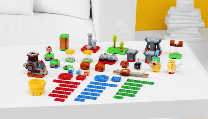 LEGO Super Mario 'Maker Set' announced for 2021