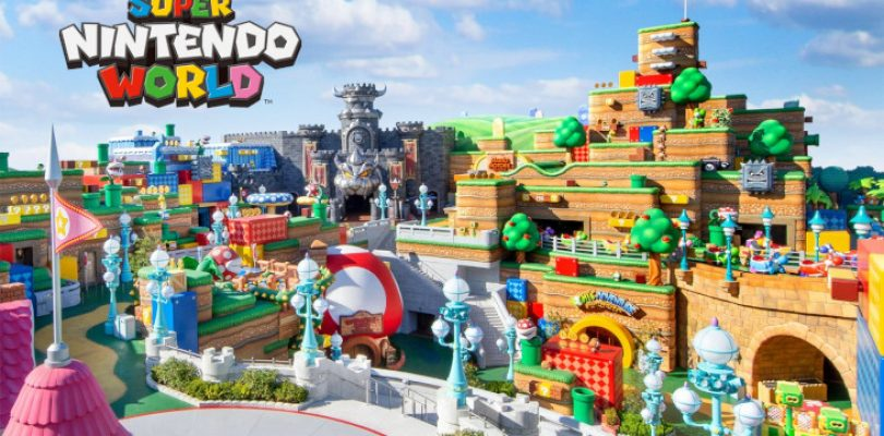 Super Nintendo World's official opening announced