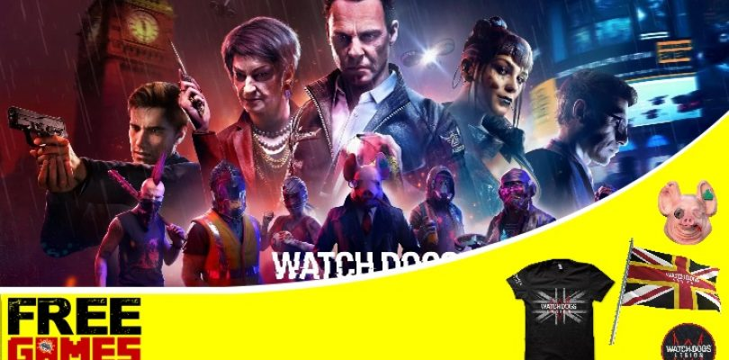 Free Games Vrydag: Watch Dogs Legion (PS4/Xbox One)