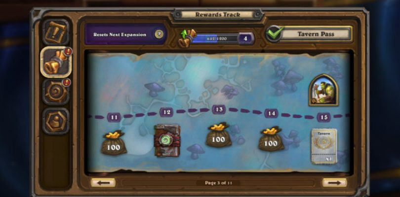 Many Hearthstone players are unhappy with the new season pass and its reward track