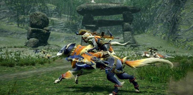 Monster Hunter Rise shows off aerial movement and a fight with an Aknosom