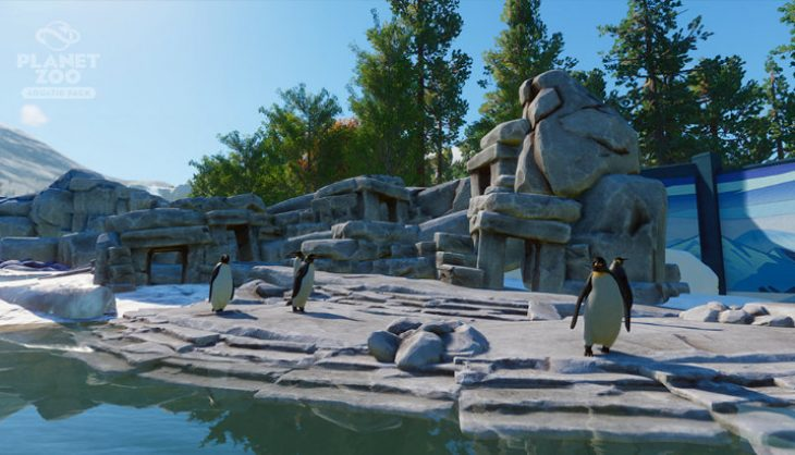 Planet Zoo is adding lovable water critters in Aquatic DLC