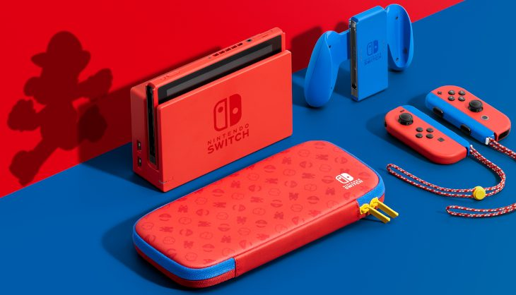 Nintendo just revealed a new  3D World trailer and a special edition Mario Switch
