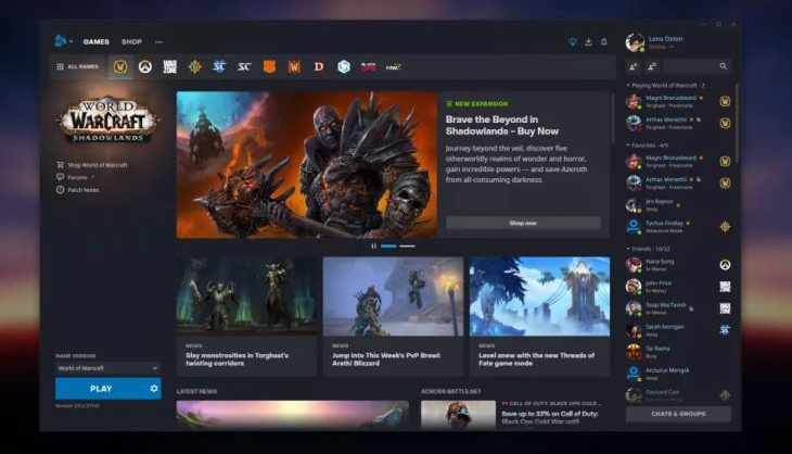 Blizzard is going to give Battle.net a big front-end upgrade