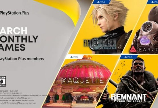 Final Fantasy VII Remake and Maquette headline PS Plus games for March
