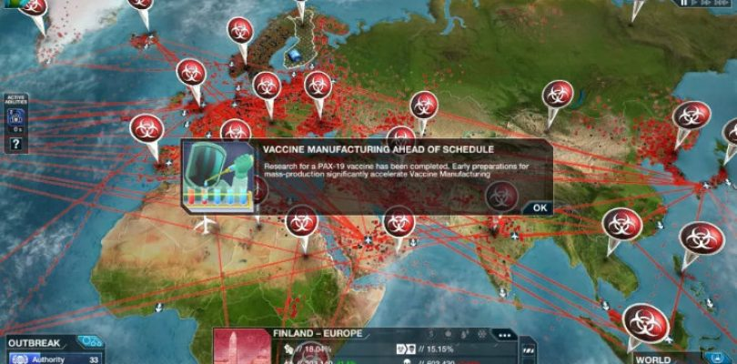 Plague Inc: The Cure is free, so please vaccinate the world