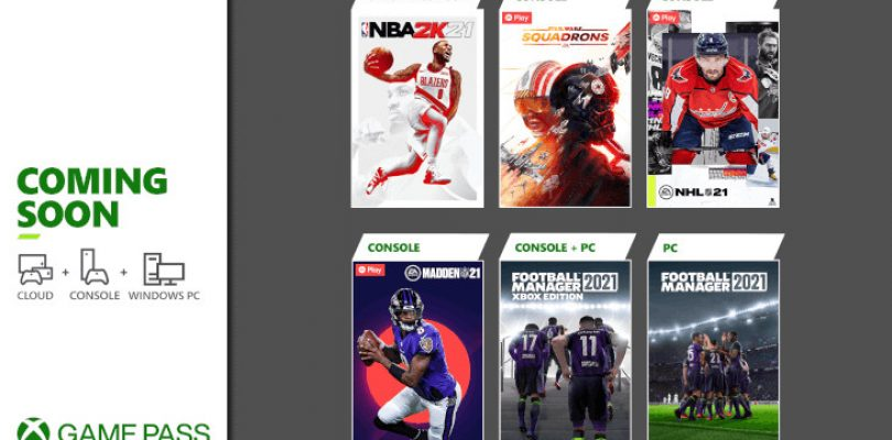 Xbox reveals new titles coming to Game Pass