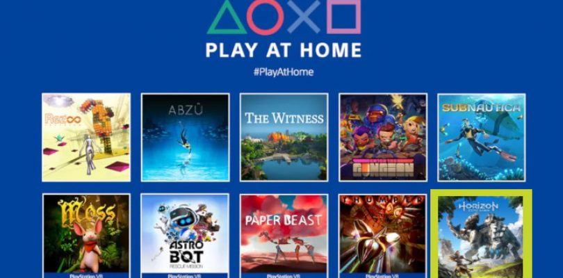 PlayStation Play at Home will soon have 10 new games to download for free