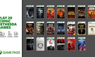 20 Bethesda titles head to Game Pass on Xbox and PC