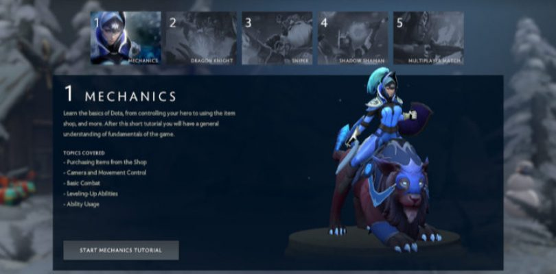 Players are raising money to put a proper tutorial in tiny indie game Dota 2