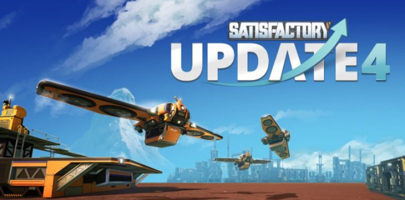 Satisfactory is adding lights and drones