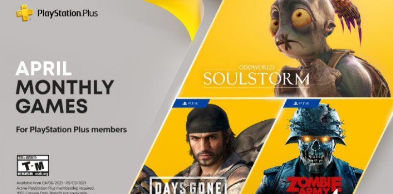 April's PS Plus games are all about long bike rides, zombies and Oddworld