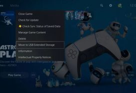 The first major firmware update for PS5 arrives today with USB storage