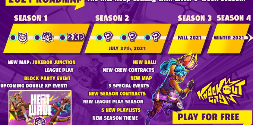 Knockout City roadmap reveals upcoming S2 content