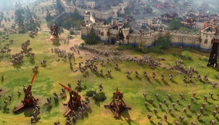 Age of Empires rounds out the launch civs with the Holy Roman Empire and the Rus