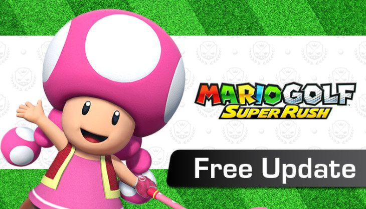 Mario Golf: Super Rush first free update is now available