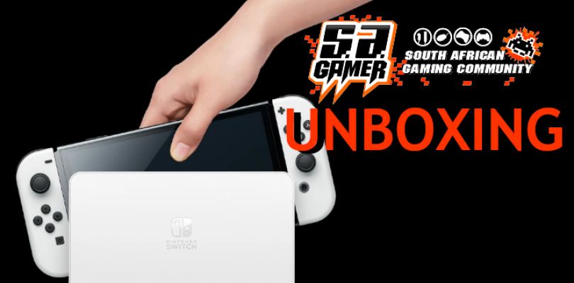 Switch OLED: Unboxing